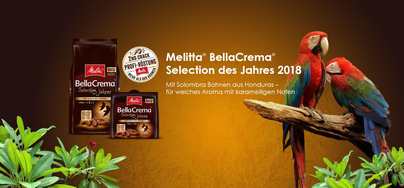 Melitta Selection des Jahres 2017